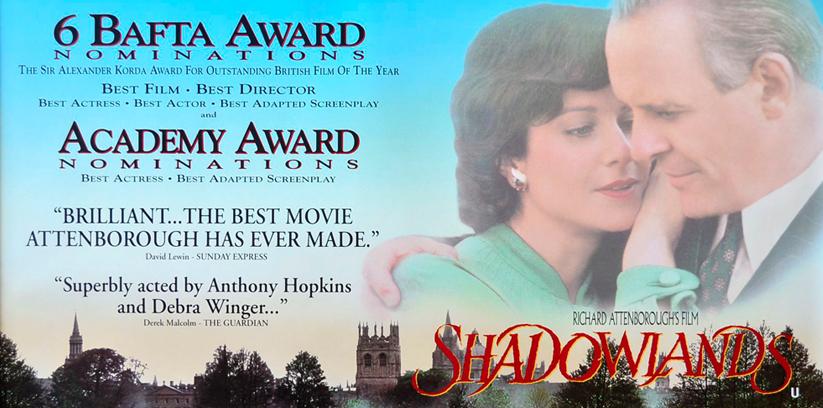 Shadowlands (U) - Malvern Theatres